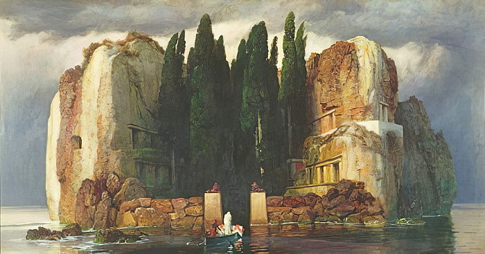 The Isle of the Dead by Arnold Böcklin