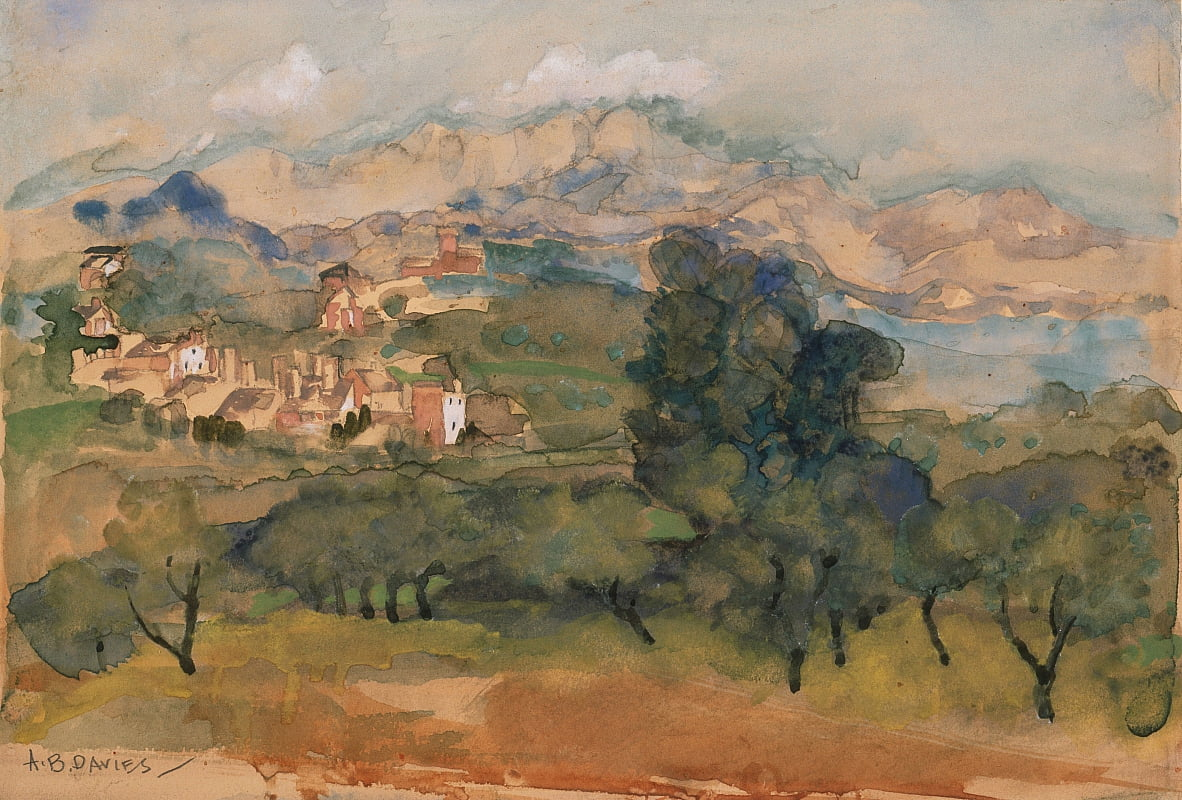 Olive Trees by Arthur Bowen Davies