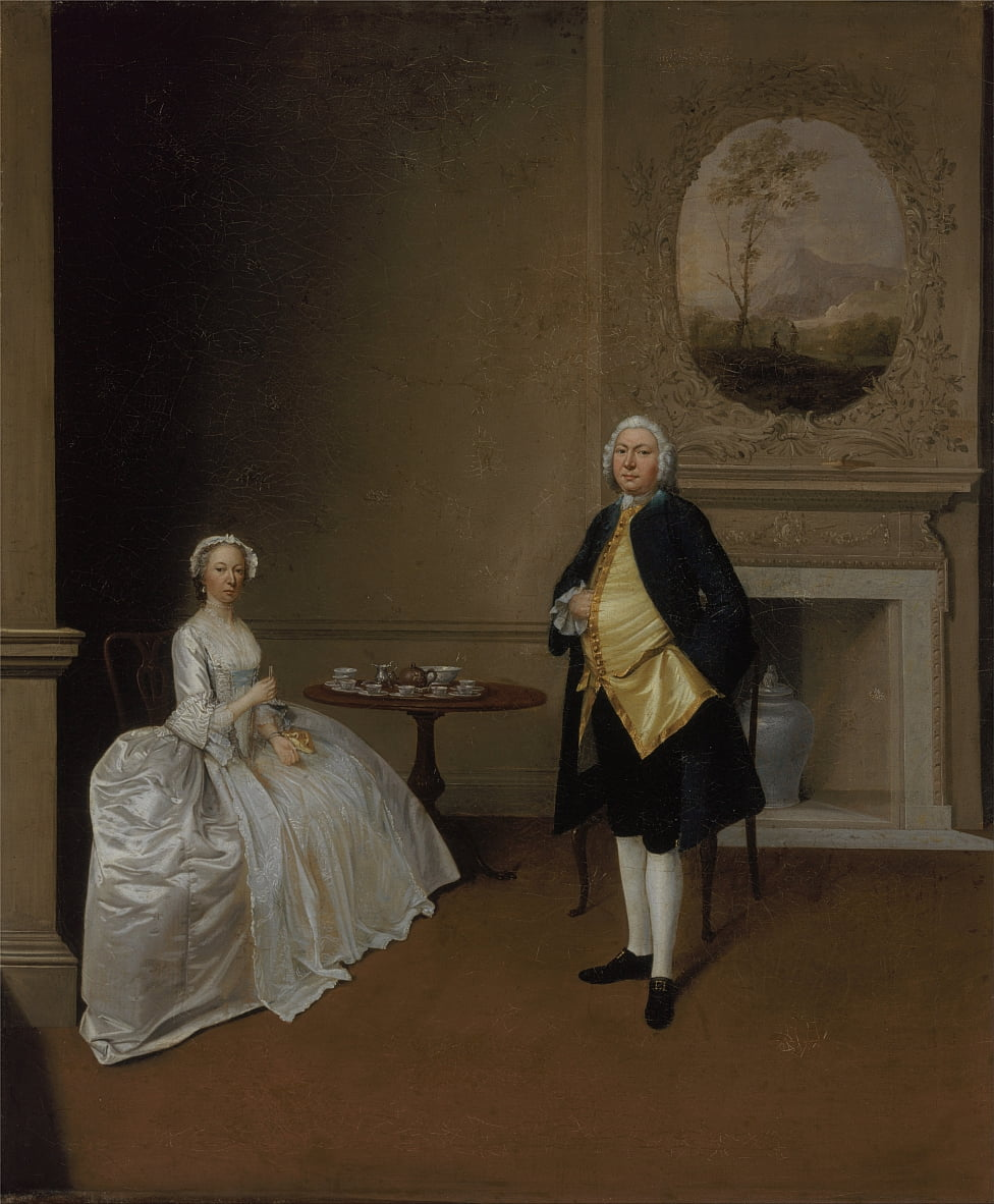 Mr. and Mrs. Hill by Arthur Devis