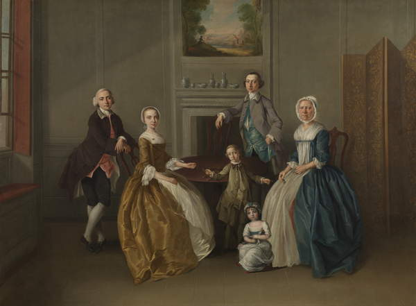 Family Group, 1756 by Arthur Devis