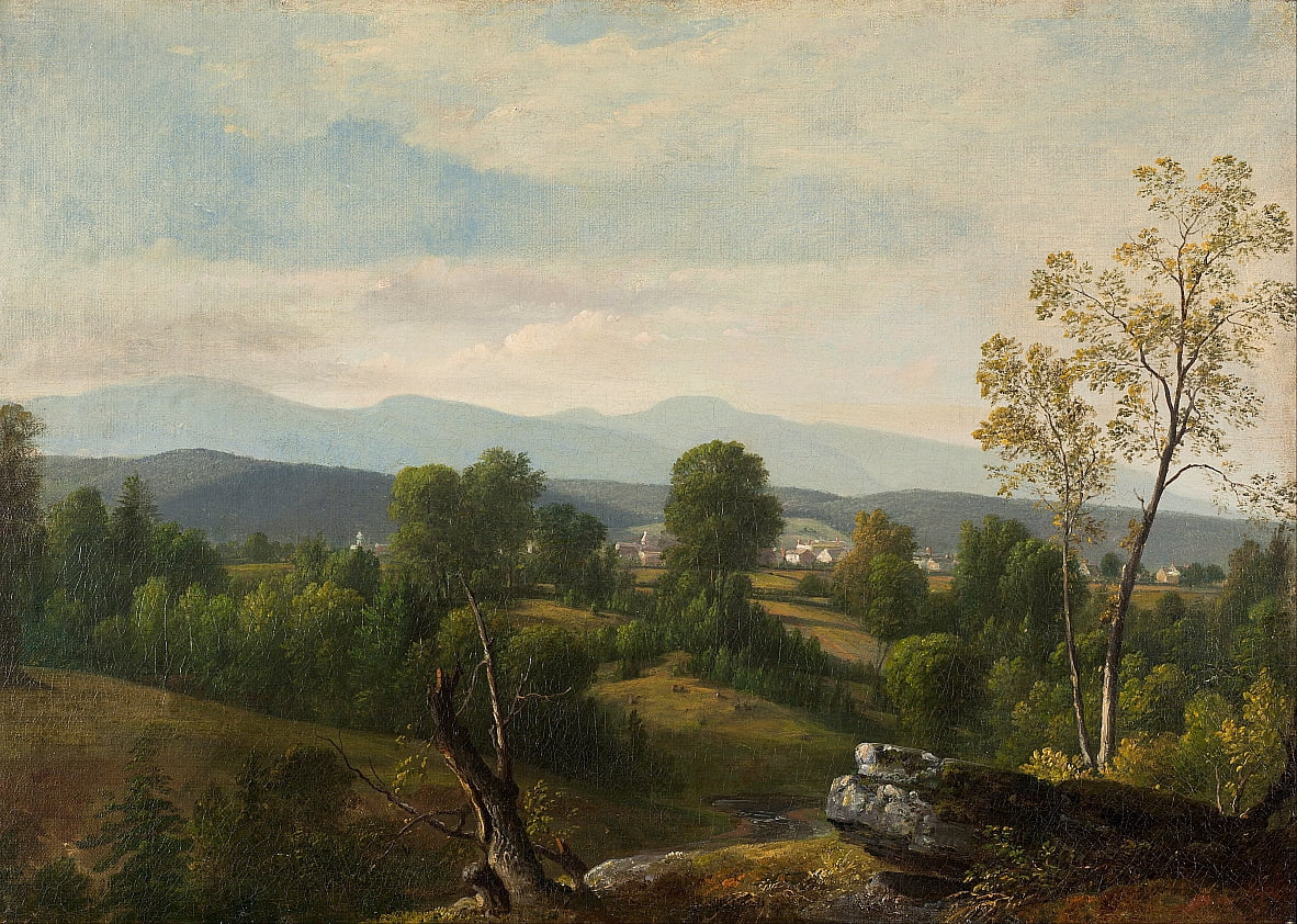 A View of the Valley by Asher Brown Durand
