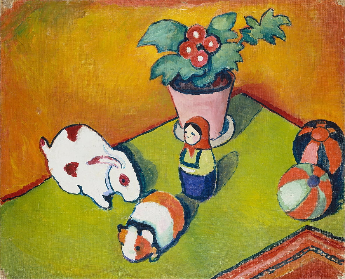 Little Walters Toys by August Macke