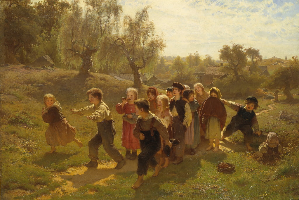 The Game  by August Malmström