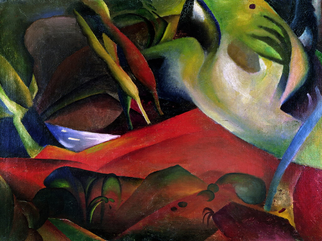 The Storm, 1911  by August Macke