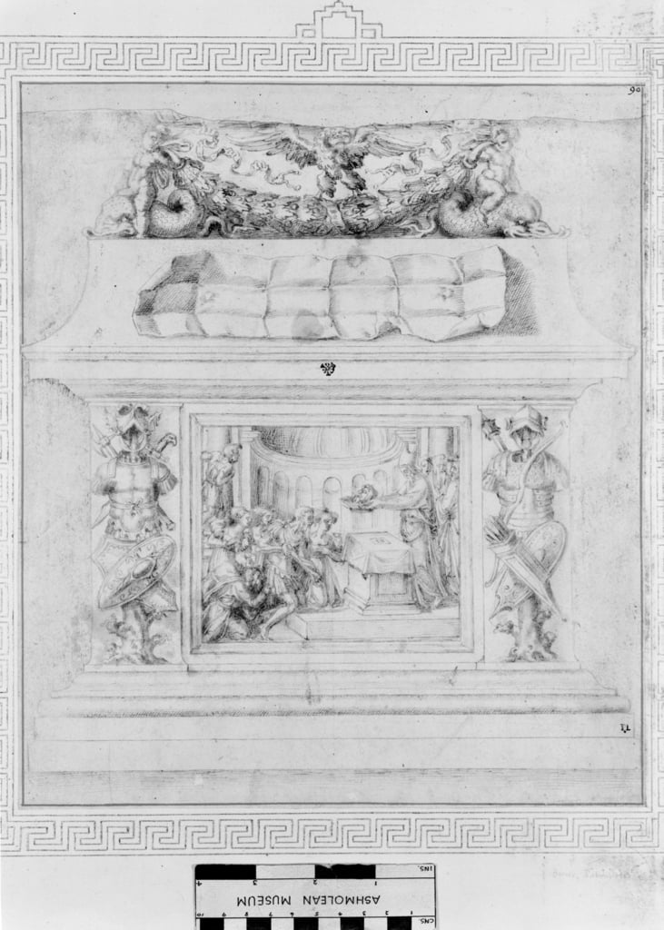 Decoration of a Casket, c.1535  by Baccio Bandinelli