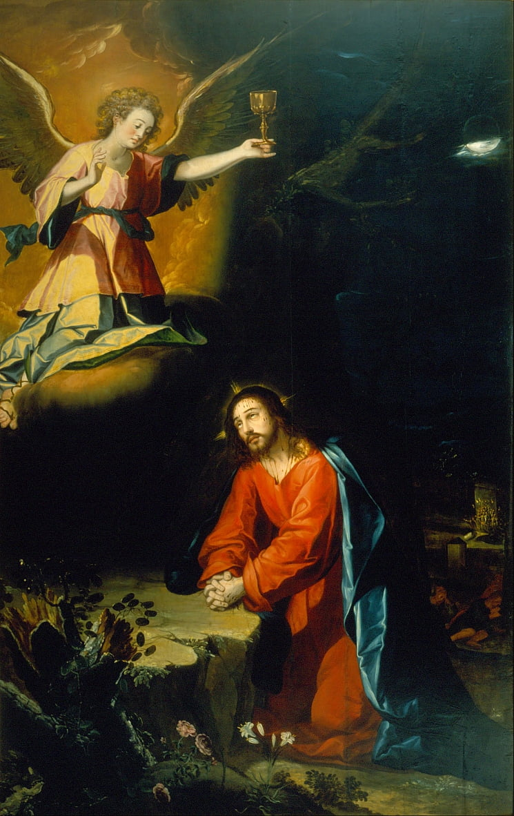 The Prayer in the Garden by Baltasar de Echave Orio
