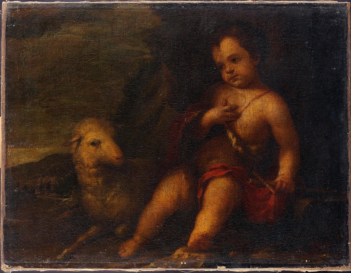 Infant St John by Bartolomé Esteban Murillo