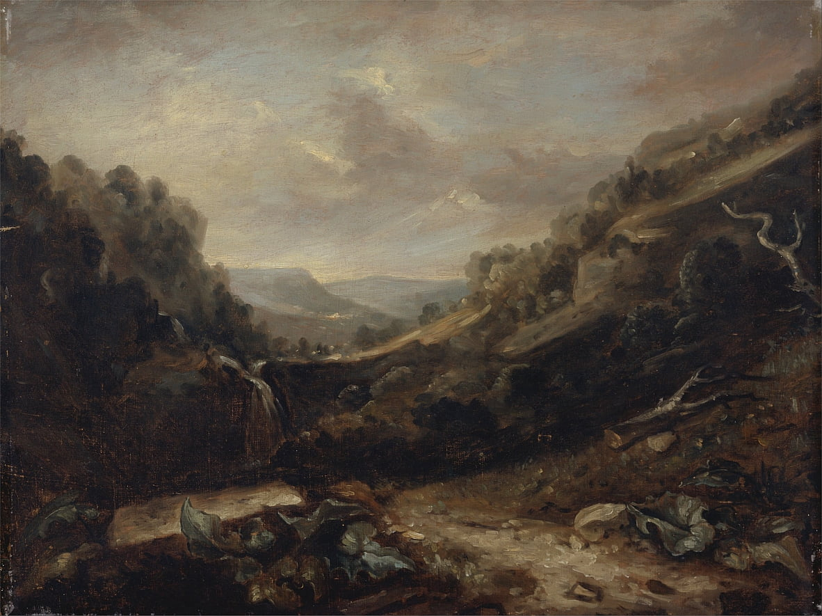 West Country Landscape by Benjamin Barker