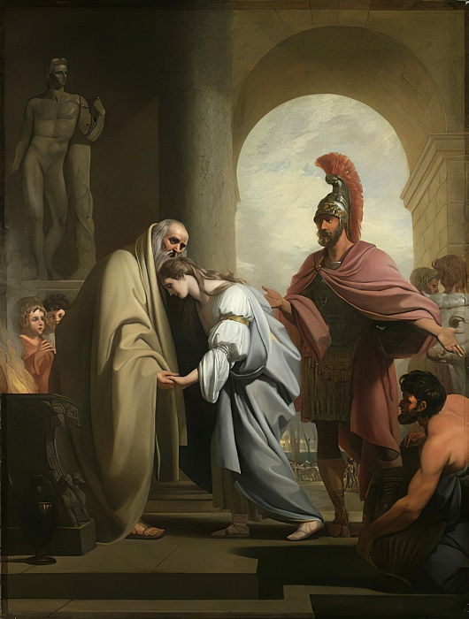 Chryseis Returned to her Father, 1771  by Benjamin West