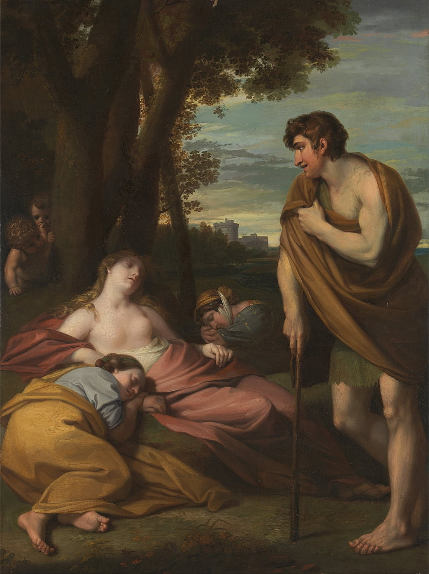 Cymon and Iphigenia by Benjamin West