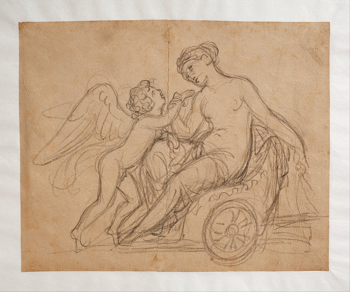 Cupid Complains to Venus about a Bee Sting by Bertel Thorvaldsen