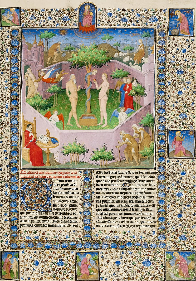 The Story of Adam and Eve by Boucicaut Master