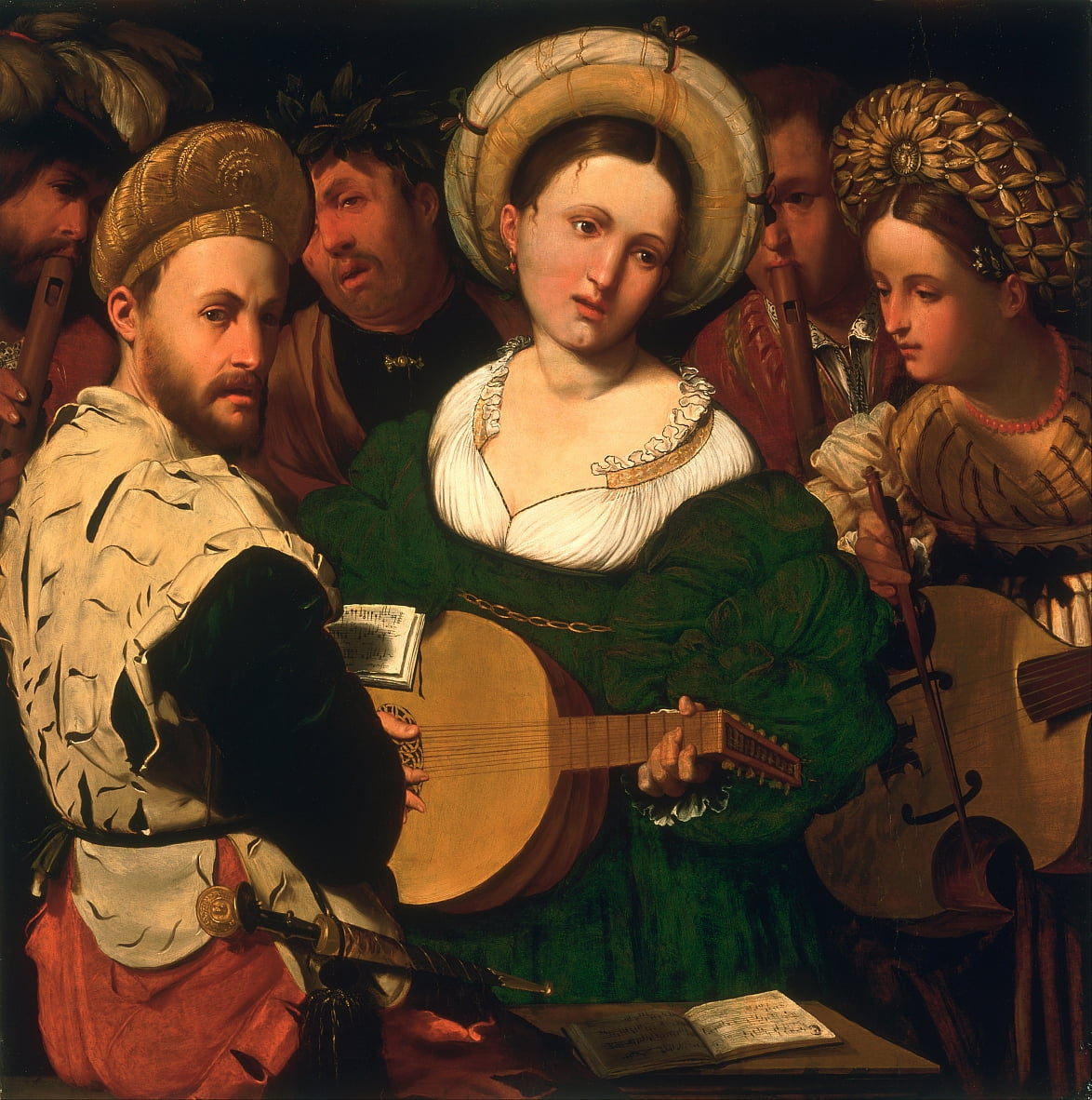 Musical Group by Callisto Piazza