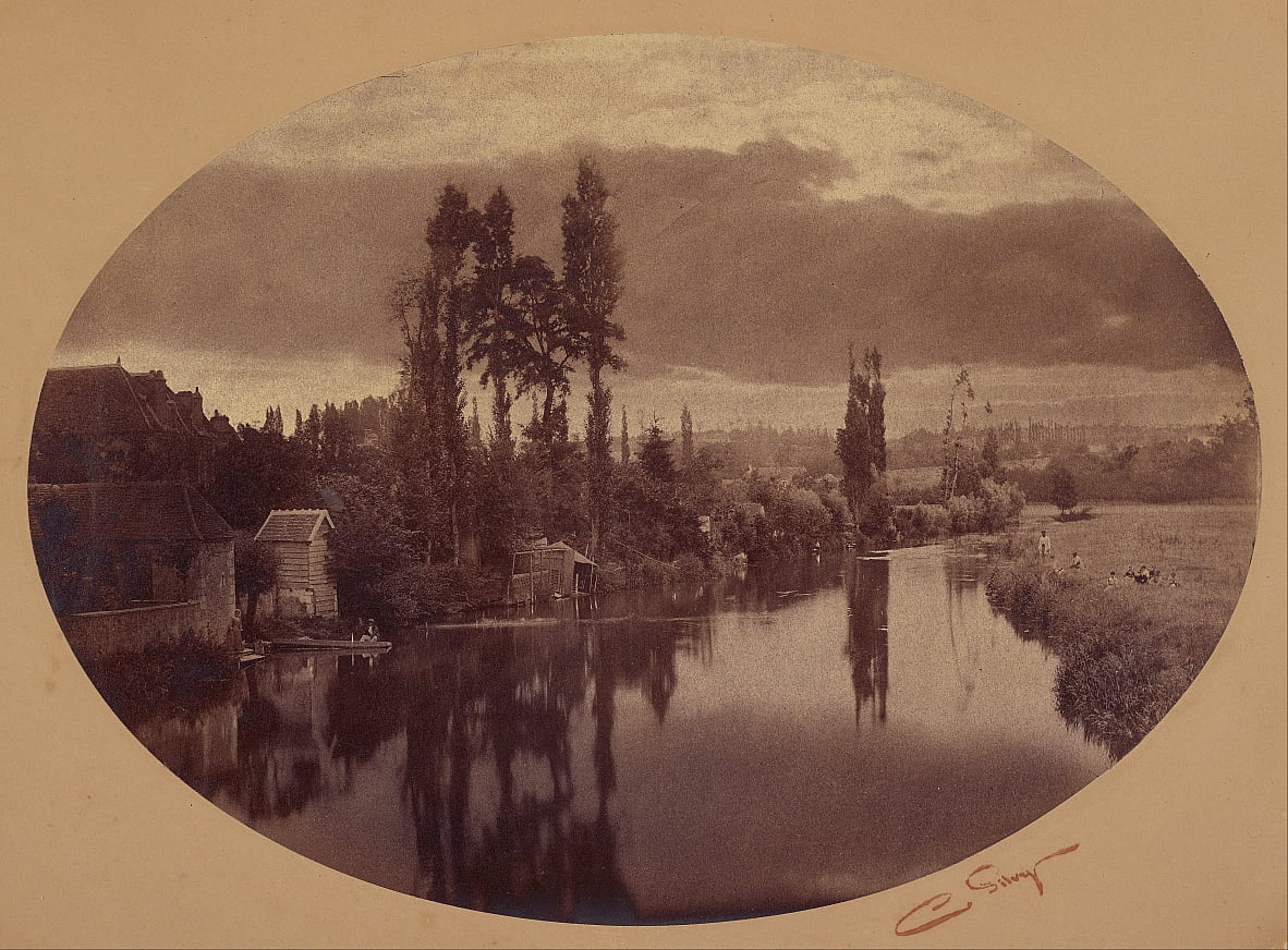River Scene by Camille Silvy