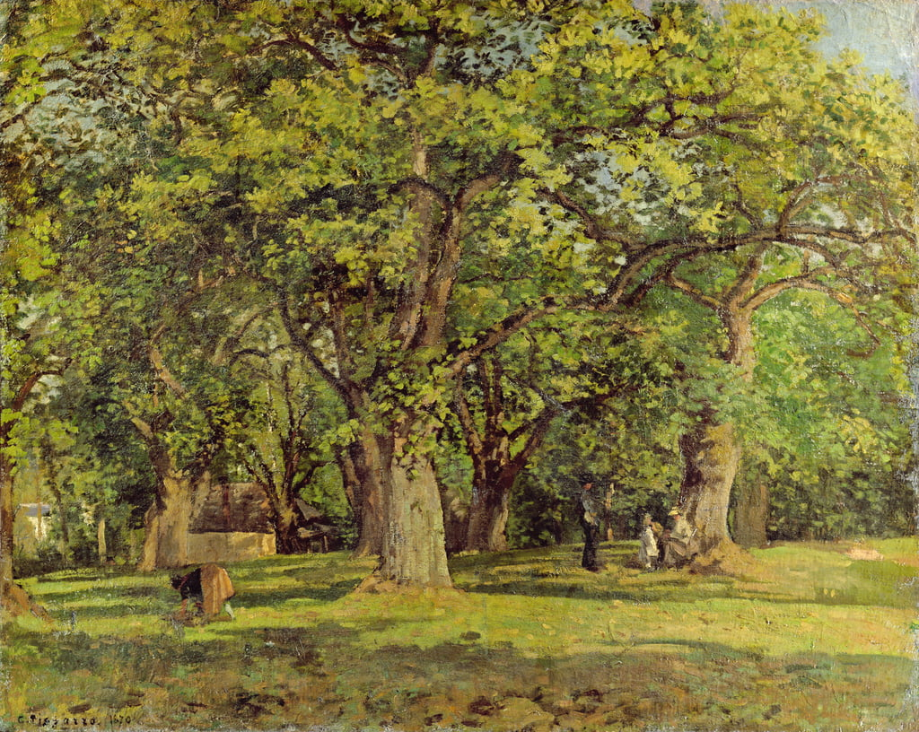 The Forest, 1870 by Camille Jacob Pissarro