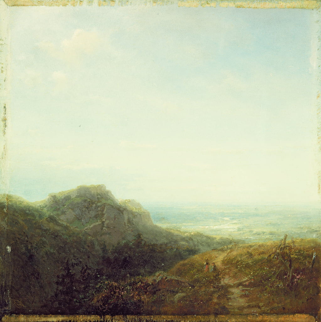 Overlooking the Valley by Carl Spitzweg