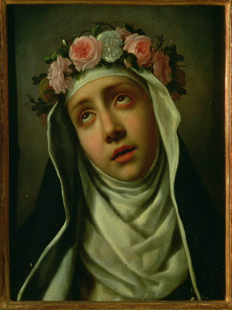 St. Rose of Lima (1586-1617) by Carlo Dolci