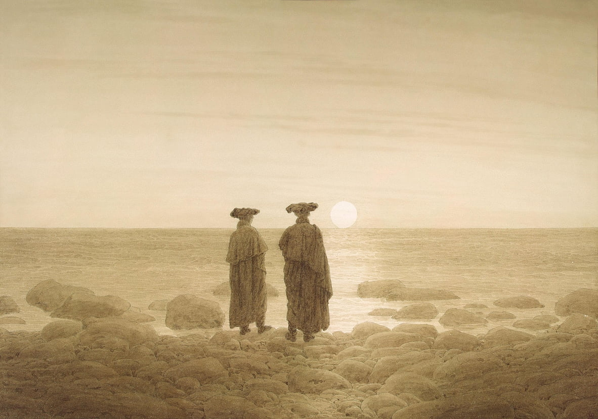 Mondaufgang by Caspar David Friedrich