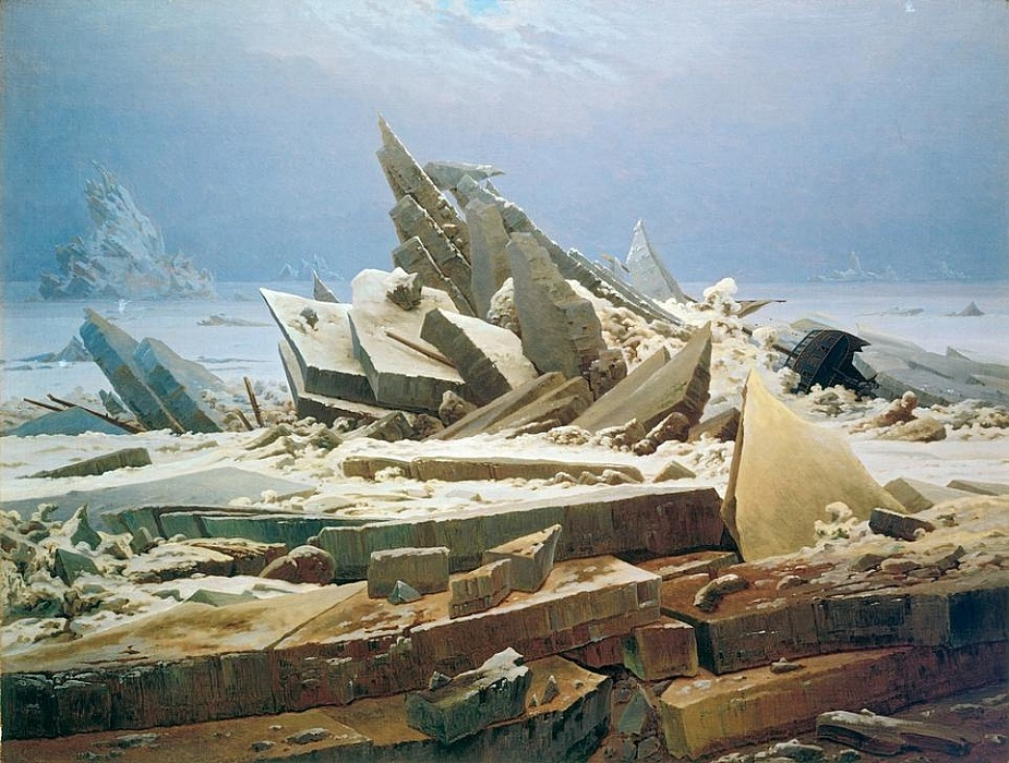Das Eismeer by Caspar David Friedrich