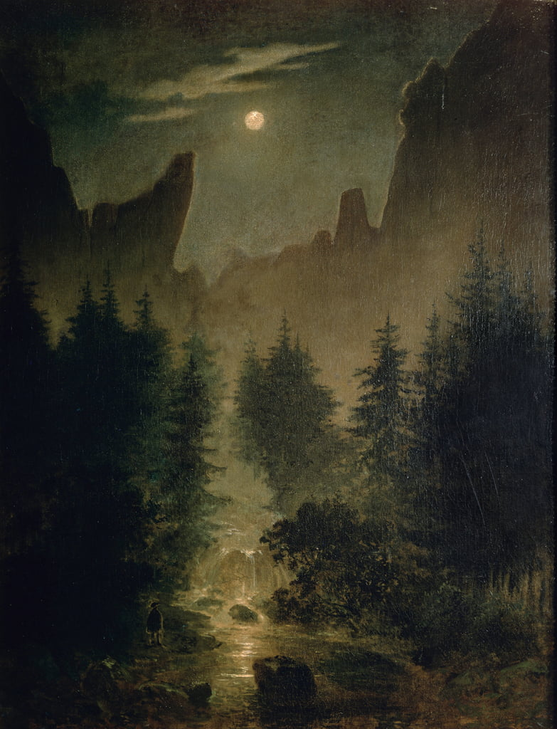 Uttewalder Grund by Caspar David Friedrich