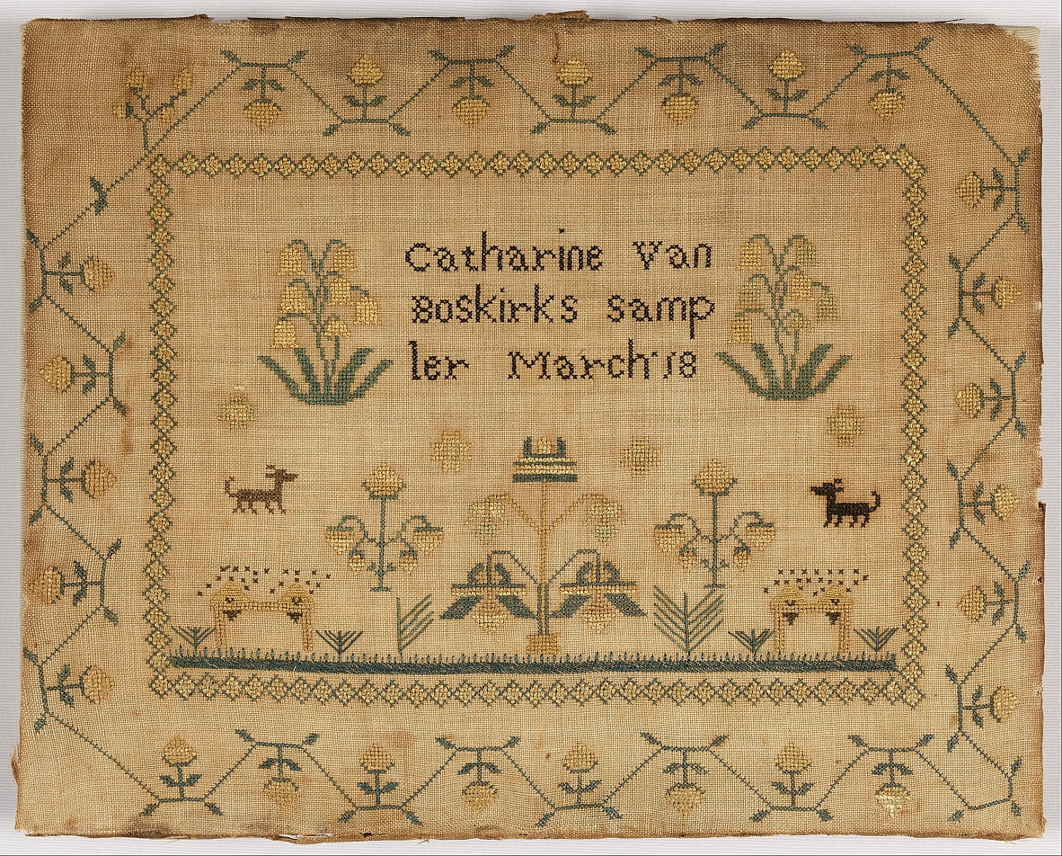Sampler by Catherine Van Boskirk