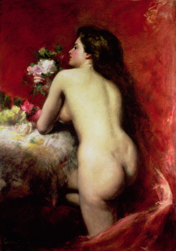 The Model, 1905 by Charles Emile Auguste Carolus Duran