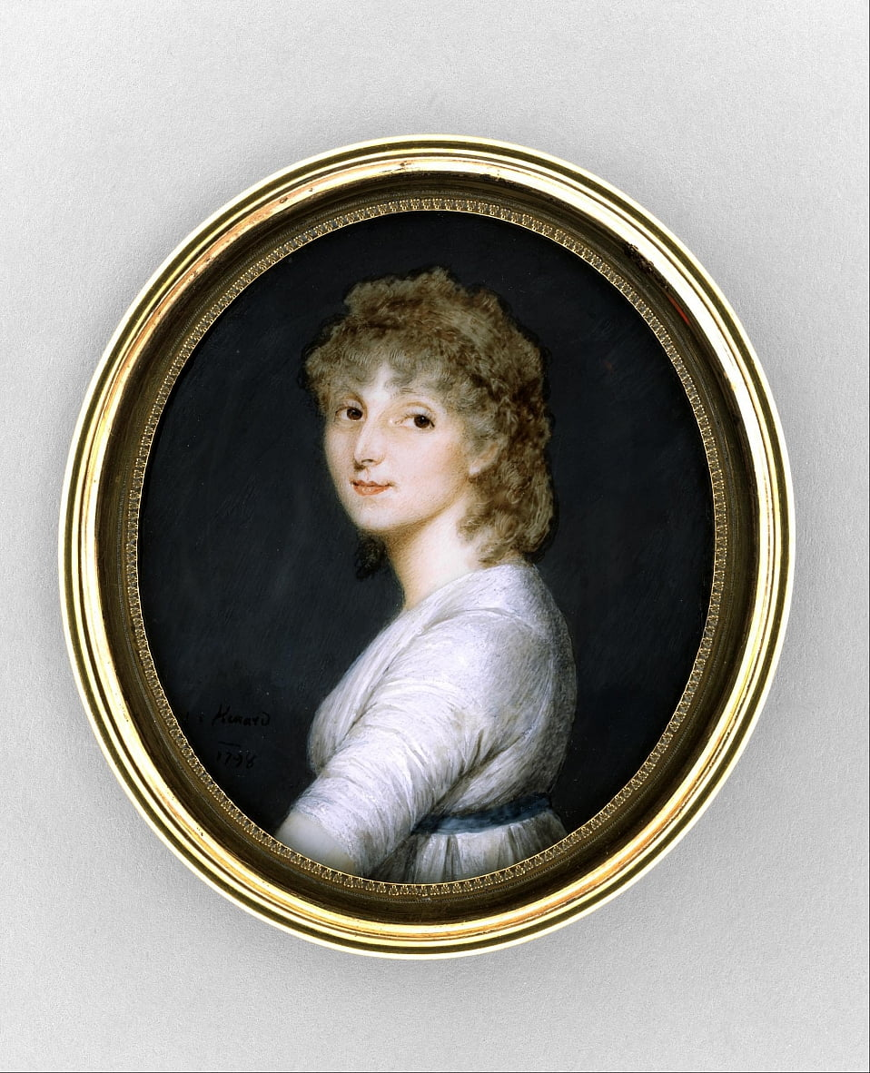 Portrait of a Woman by Charles Hénard