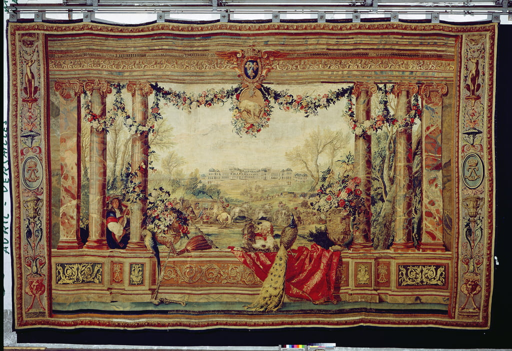 The Month of April Chateau of Versailles, from the series of tapestries