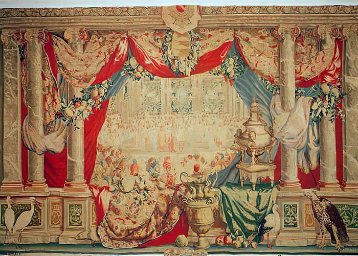 The Month of February, from the series of tapestries