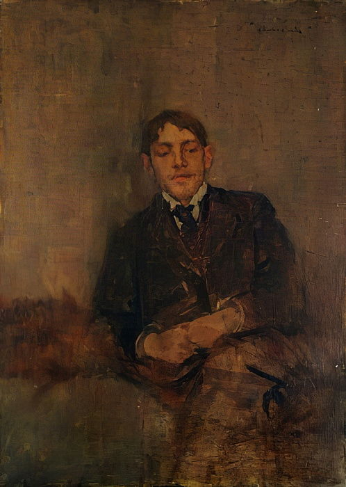 Self-Portrait, c.1895  by Charles Edward Conder