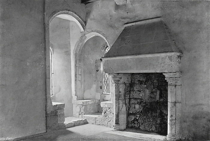 Guardroom of the Early English Gatehouse  by Charles Latham
