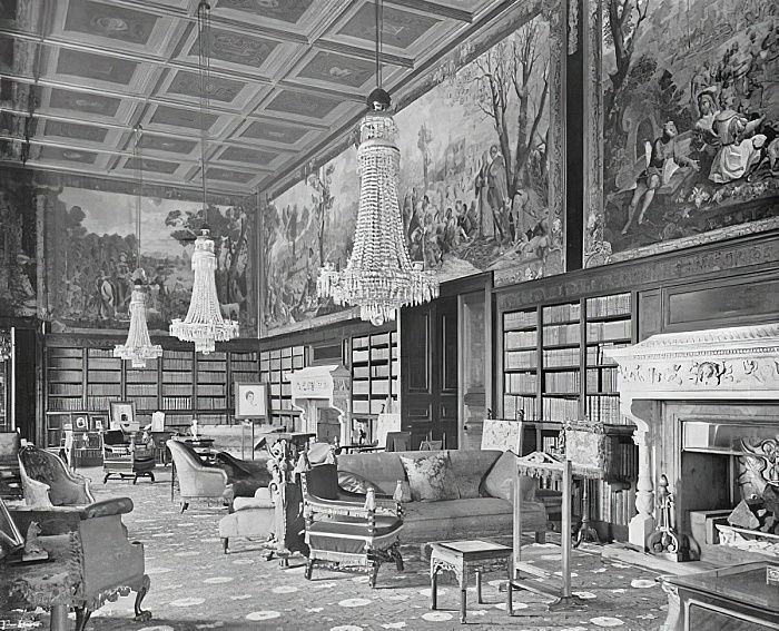 The Library  by Charles Latham