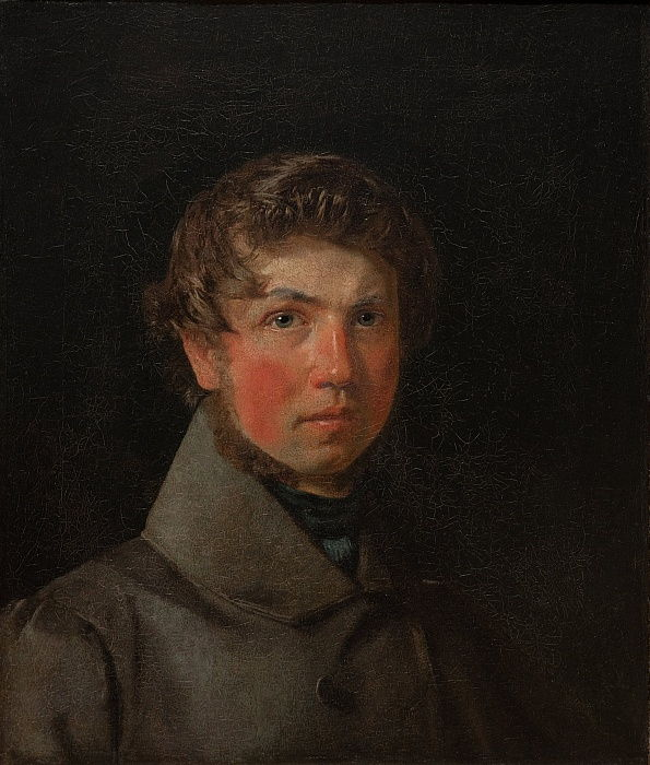 Self-Portrait, c.1833 by Christen Schjellerup Købke