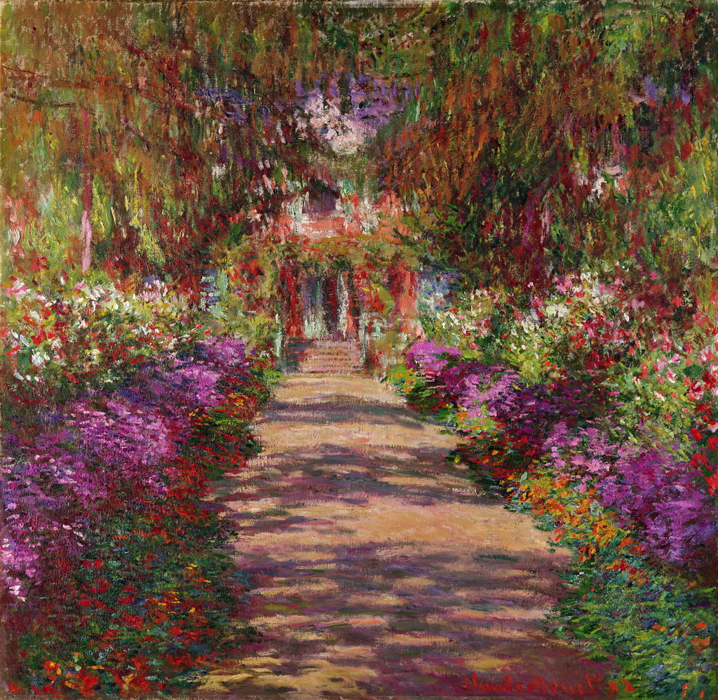 A Pathway in Monet