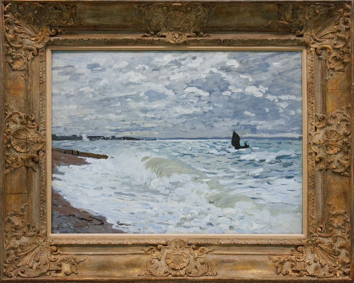 The Sea at Le Havre by Claude Monet