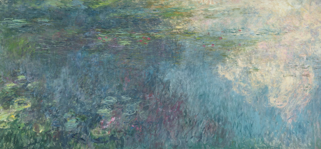The Waterlilies - The Clouds (right side), 1914-18 (see also 64185 und 64186) by Claude Monet