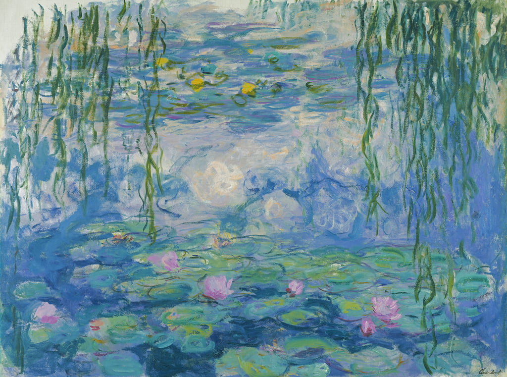 Waterlilies, 1916-19  (see also detail 382331) by Claude Monet
