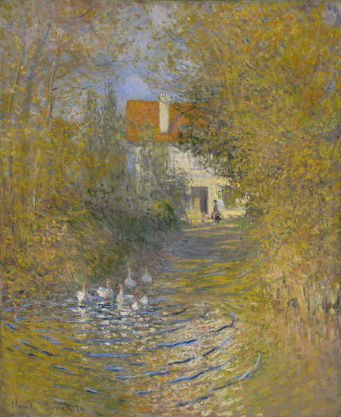 The Geese, 1874 by Claude Monet
