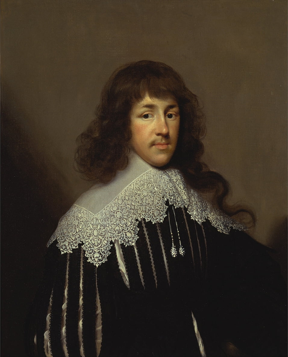 Portrait of a Man, Probably Sir Francis Godolphin by Cornelius I Johnson