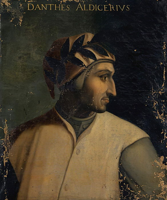 Portrait of Dante Alighieri, c.1560 by Cristofano dell Altissimo
