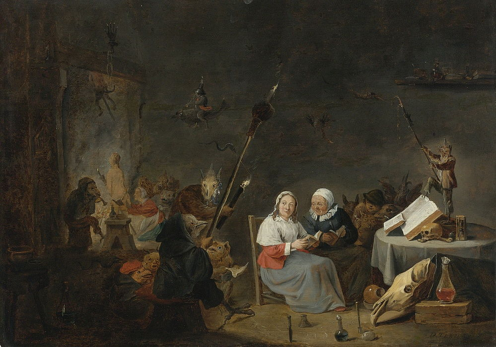 The Witches Sabbath by David Teniers the Younger