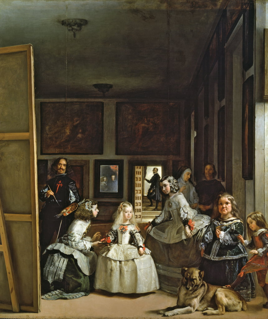 Las Meninas or The Family of Philip IV by Diego Velázquez