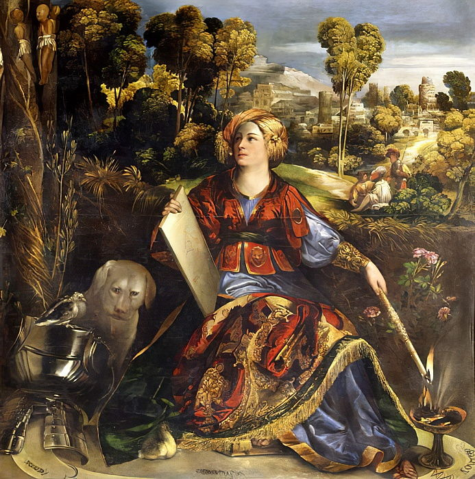 Circe  by Dosso Dossi