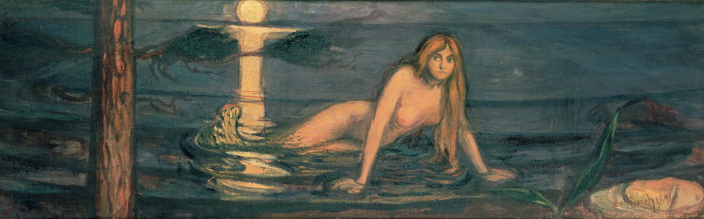 The Lady from the Sea, 1896 by Edvard Munch
