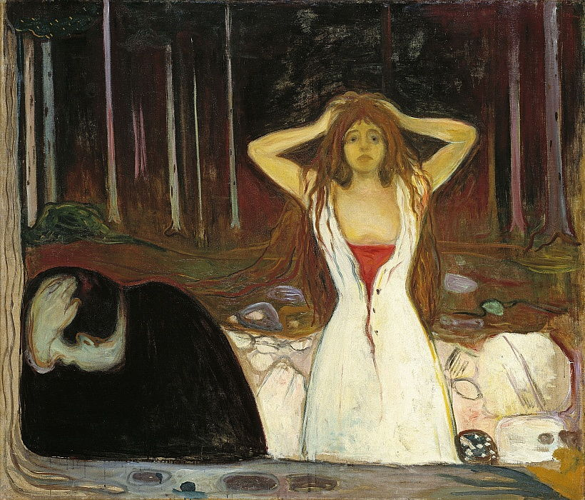 Ashes by Edvard Munch