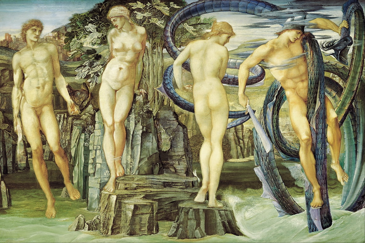 Perseus and Andromeda by Edward Burne Jones
