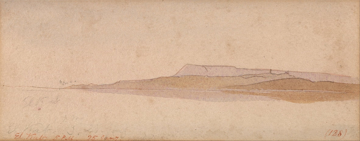 El Kab by Edward Lear