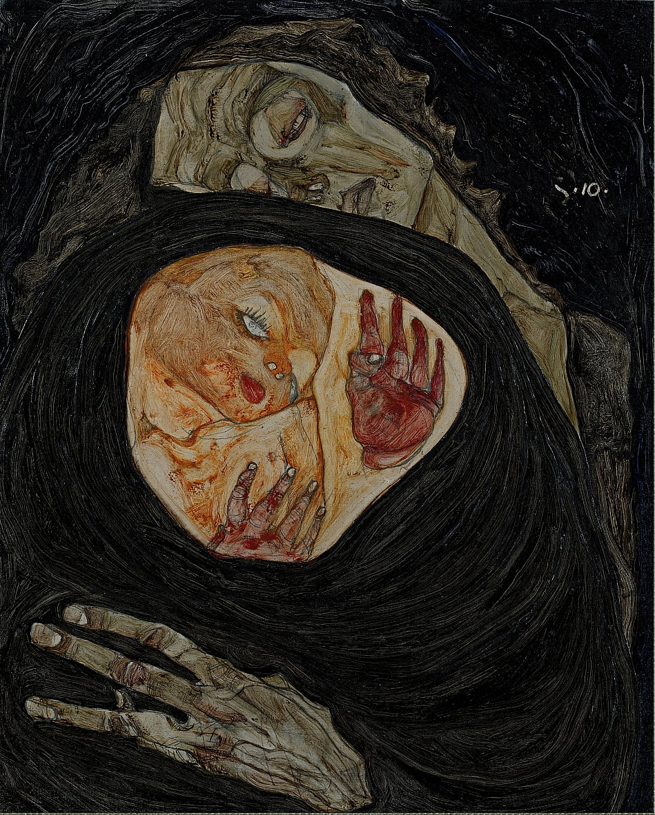 Dead Mother I by Egon Schiele