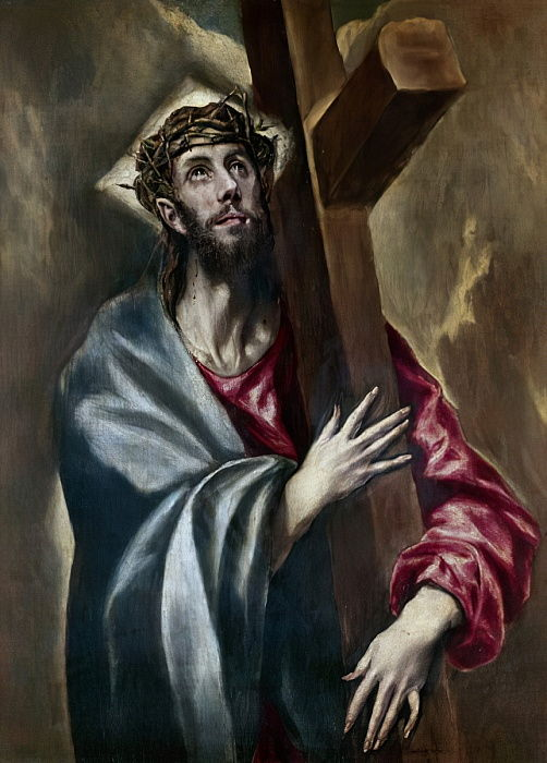 Christ carrying the Cross, c.1602  by El Greco