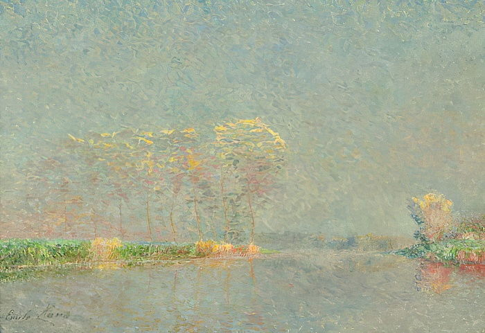 Fog on the Lys  by Emile Claus